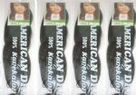 4 Pack of Regular Braid Colour 280 (black & white mix)